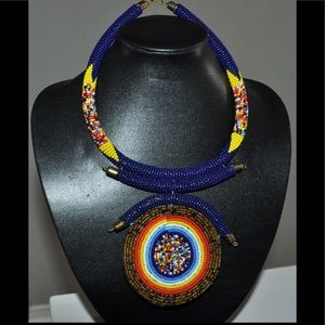 Jewelry - Africa. Beaded Necklace